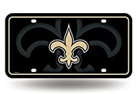NFL Rico Industries Metal License Plate Tag, New Orleans Saints