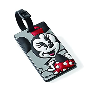 American Tourister Minnie Mouse ID Tag Travel Accessory, Minnie Mouse