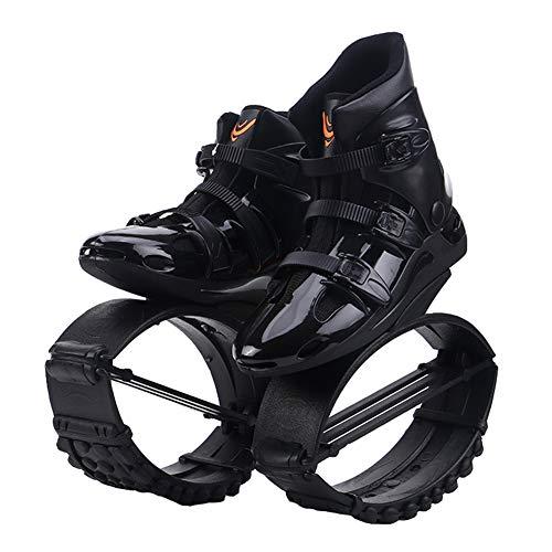 JYOKK Übung Hüpfen Anti Schwerkraft Laufstiefel Fitness Schuh Springen Schuhe Sicherheit Komfortabel Interessant Rebound Bounce Schuhe zum Unisex Kinder Erwachsene,B,L (230~240mm)