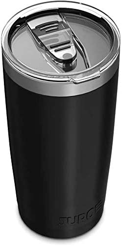 Juro Tumbler 20 oz Stainless Steel Vacuum Insulated Tumbler with Lids and Straw [Travel Mug] Double Wall Water Coffee Cup for Home