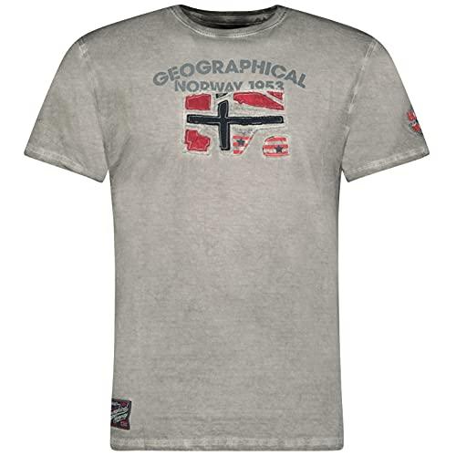 Geographical Norway JOTZ Men - Camiseta De Algodón para Hombre - Camisetas...