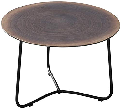 NSYNSY Couchtische/Kaffee Beistelltische Naturholzplatte Moderne Möbel Dekor Beistelltisch Runder Gelegenheitstisch Teetisch für Wohnzimmer zu Hause und im Büro