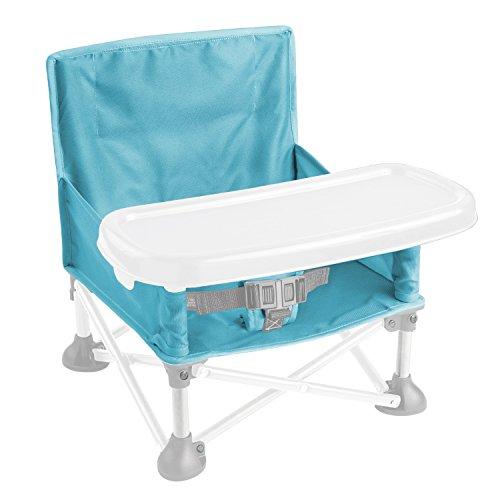 Summer Infant Pop N' Sit Booster Seat, Aqua Splash