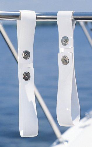 Taylor Made Products 1101 Tidy-Ups Boat Dock Line Holders (Standard Rails) Dock Edge Line Holder