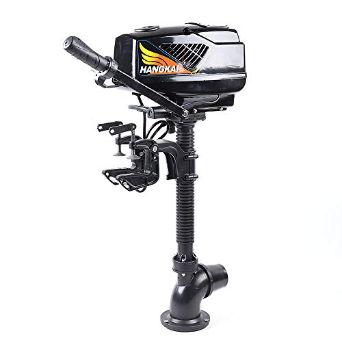 Best Review Of Gdrasuya10 4.0HP Heavy Duty Electric Outboard Motor Fishing Boat Engine Pump Brushles...