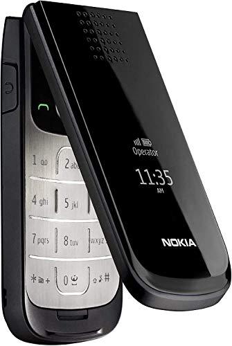2720 Flip by HMD-N O K I A with 1.3 Mega Pixel Camera, Stereo FM Radio, RDS, Recording - Black