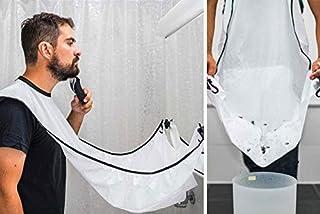 SKEIDO Man Beard Bib Bathroom Beard Apron For Man Beard Trimming Catcher Waterproof Floral Cloth Household Cleaning Protec...