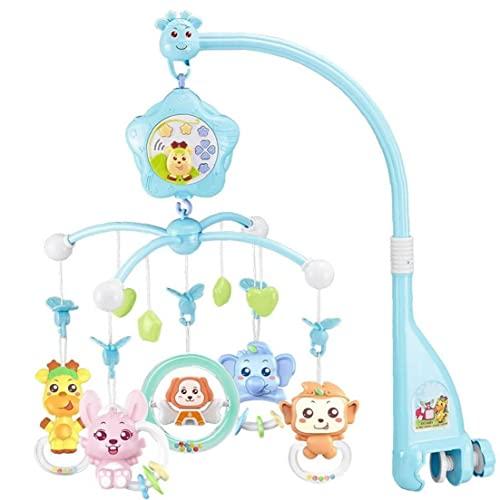 Baby Musical Cuna Infant Musical Musical Rotativo Colgante Campana Bebé Decoración Juguete, Cuna Juguete con Música
