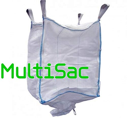MULTISAC Big Bag (FIBC) 90x90x90 cm 1000 Kg con válvula de descarga. (1)