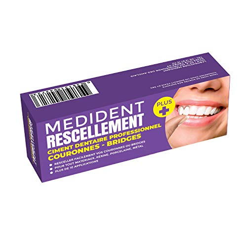DENTAL CEMENT MEDIDENT © FOR RECEMENTING CROWNS OR...