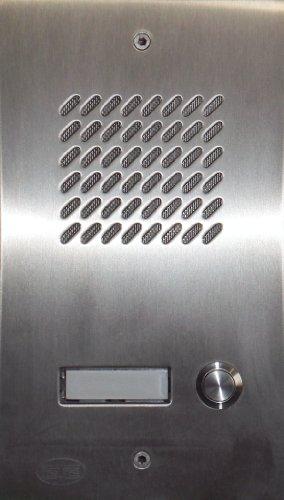 Türsprechanlage TLT 06/1 Comfort INOX (Edelstahl) Balcom-CTC