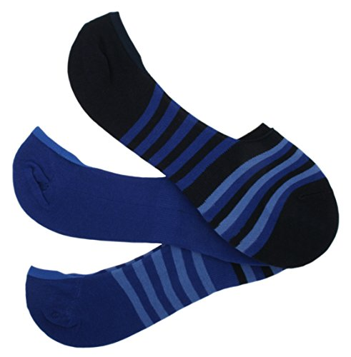 Tom Franks - Socquettes - À rayures - Homme Bleu Bleu