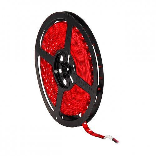 GRG Striscia LED 5730 luce rossa 5 metri 60 LED metro con silicone protettivo DC12V con alimentatore 2A in omaggio.