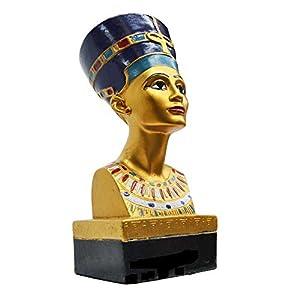Gran Máscara de faraón egipcio rey Tut Busto Estatua decorativa, diseño de Tutankamón: Amazon.es: Hogar