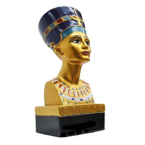 Busto Nefertiti, Reina Antiguo Egipto, Hecha Mano