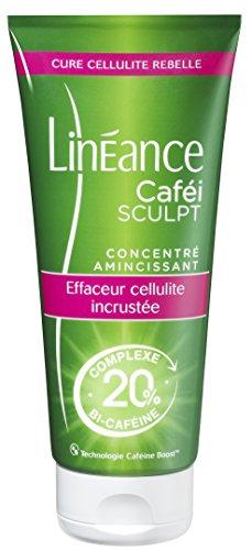 Linéance - Cafei Sculpt - Concentré Amincissant - Anti-Cellulite incrustée - Complexe Bi-Caféine - 180ml
