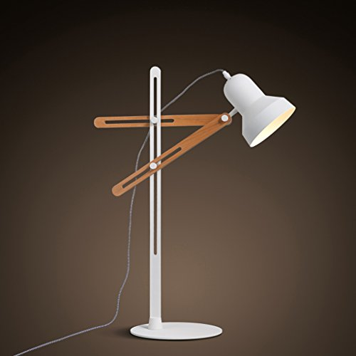 Bonne chose lampe de table Lampes Lampes de bureau simples modernes Lampe à économie d'énergie LED Lampe de bureau Lampe de bureau Géométrie réglable