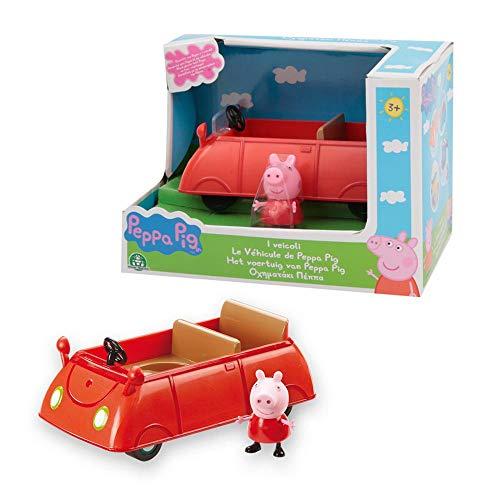 Giochi Preziosi- Peppa Pig Macchina, Veicoli Serie 4, Multicolore, PPC15C02