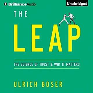 Page de couverture de The Leap