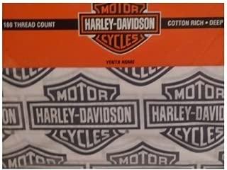 Harley Davidson Flame Rider Fireball Sheet Set-Twin Size
