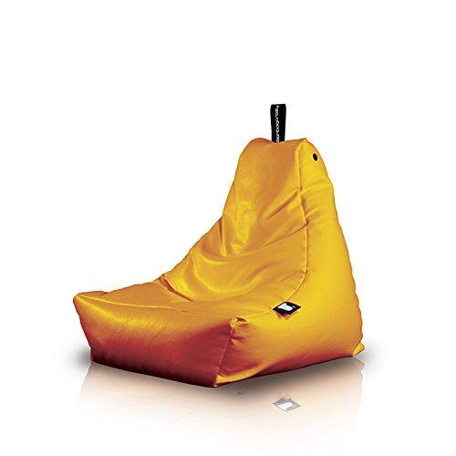 Poltrona a Sacco OUTDOOR - b-bag mini-b Orange - Resistente all'acqua - 100% Polyester - Resistente UV 7/8