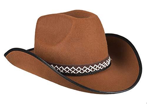 Boland 54370 Kinderhut Cowboy, Braun