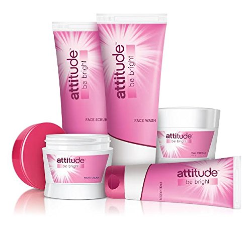 Amway Attitude Be Bright Set Of 5, (Day Cream, Night Cream, Facewash, Face Scrub & Face Masque)