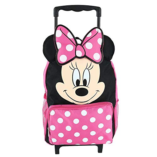 """Minnie Mouse 14"""" Softside Rolling Backpack"""