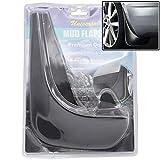XUKEY 2pcs Set Universal Car Retail Mud Flaps Splash Guards Mudguards Mudflaps Dirty Traps Fender Flares Front or Rear