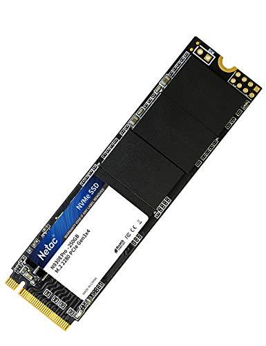 Netac NVMe SSD 250 GB Interno per Gaming ad Alte Prestazioni, 250 GB Gen3 x 4 PCIe, M.2 2280, 3D NAND N930E-PRO 250GB