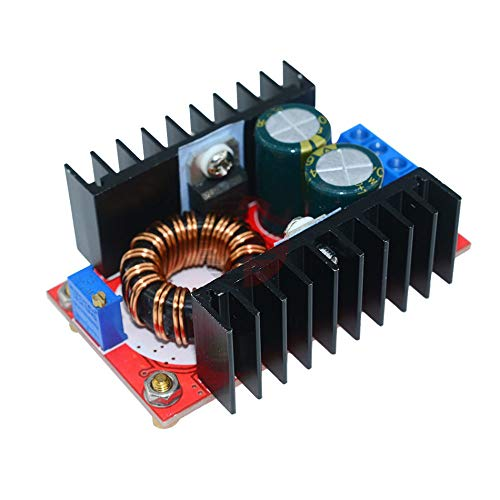 120W Power Supply DC-DC Step Up Boost Converter Module 10V-32V 35-60V Voltage Regulator Power Transformer for Laptop 12V 24V 48V
