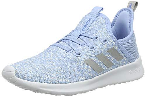 adidas Damen Cloudfoam Pure Laufschuhe, Blu Glow Blue Grey Two F17 Real Blue Glow Blue Grey Two F17 Real Blue, 36 2/3 EU
