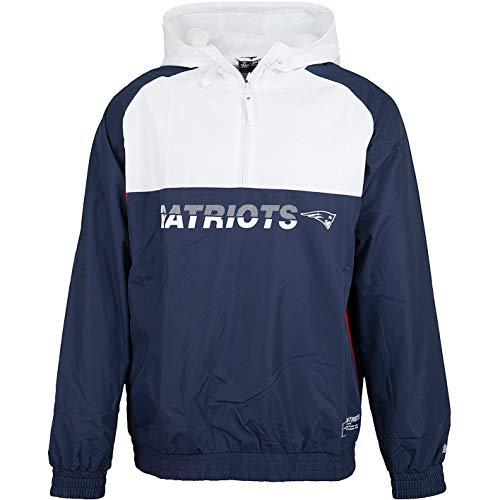 New Era NFL Block Windbreaker Jacke (L, New England Patriots)