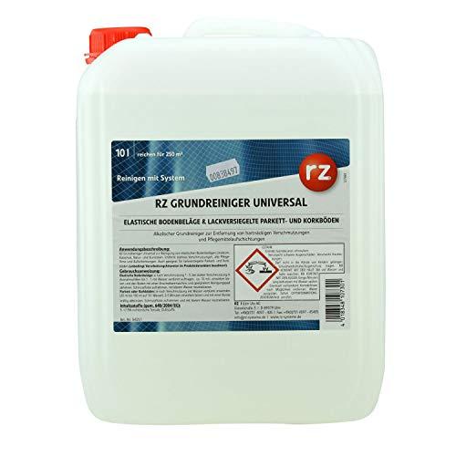 RZ Grundreiniger Universal 10 Liter für elastische Bodenbeläge & lackversiegelte Parkett- und Korkböden
