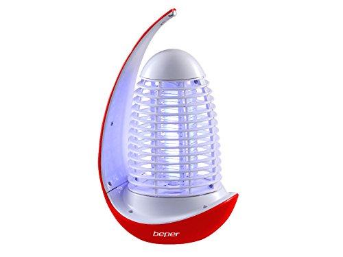 BEPER Zanzariera Elettrica, Rosso, 13 X 26 X 13 Cm