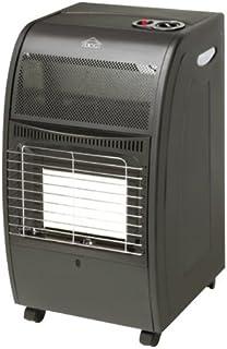 DCG Eltronic GH03 Negro Independiente - Calefactor (Independiente, Negro, 4200 W, 720 mm, 420 mm, 360 mm)