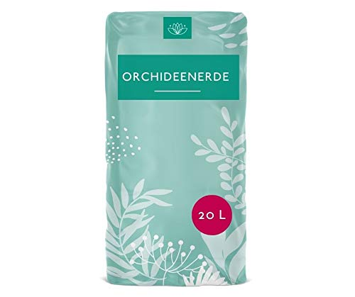 Jasker´s Orchideenerde | 20 Liter | Spezialerde mit Pinienringe und Dünger | mit Allen wichtigen Nährstoffen | Blumenerde für alle Arten von Orchideen | zum Pflanzen und Umtopfen