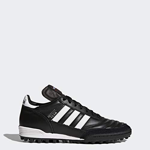 adidas Unisex-Erwachsene Mundial Team Fußballschuhe, Schwarz (Black/Running White Ftw/Red), 44 EU