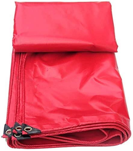 ZHPBHD Impermeable Lona Lona Cubiertas de Tierra Hoja de Abrigo de la Tienda de plástico Reforzado con Revestimiento for Trabajo Pesado, de múltiples tamaños, 450G / M² Lona