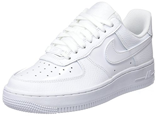 Nike Damen WMNS Air Force 1 '07 Gymnastikschuhe, Elfenbein (Whitewhite 100), 40 EU