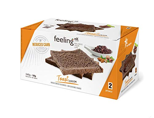 Fooditalia - FeelingOK Optimize - Protein Toast-Zwieback Kakao - 160g