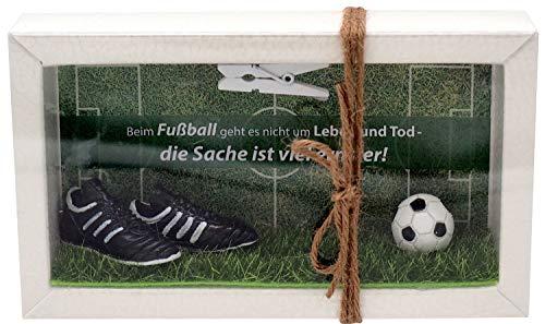 ZauberDeko Geldgeschenk Verpackung Geldverpackung Gutschein Fußball Mann Sport Weihnachten Geschenk