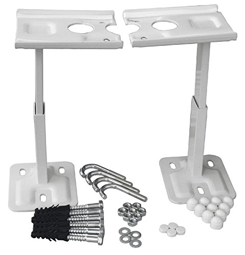 Sanitop-Wingenroth Unifix Standkonsole | Für Kompakt Heizkörper Typ DK und DKEK | Komplettsatz für Heizkörper | Höhenverstellbar | 18-teiliges Set | Metall | 27510 1