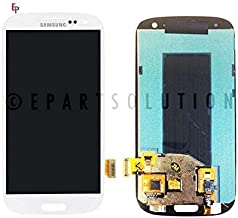 ePartSolution_LCD Display Touch Screen Digitizer Glass Assembly for Samsung Galaxy S3 i9300 T999 i747 i535 L710 R530 Replacement Part USA (White)