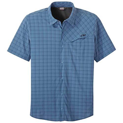 Outdoor Research Astroman S/S Sun Shirt peak blue L