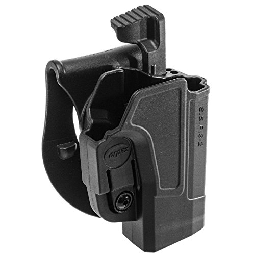 ORPAZ Defense Taktisch verstellbar drehbar drehung Paddle / Gürtel Pistole Holster Active Retention Mit Thumb Release Sicherheit für Sig Sauer p320/ P250 Full Size and Compact