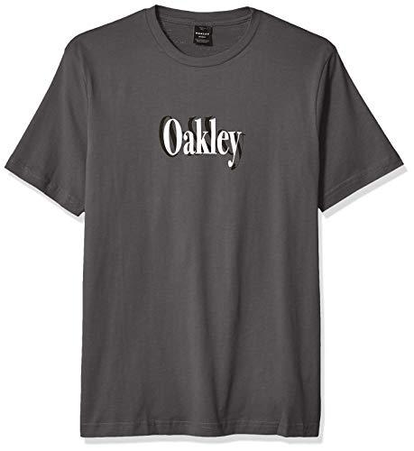 Oakley Herren Shadow Logo Tee Hemd, geschmiedetes Eisen, Mittel