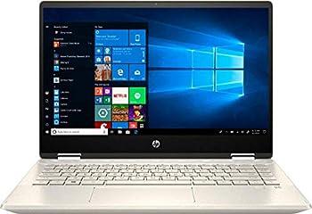 2020 HP Pavilion x360 2-in-1 Laptop Computer/ 14  Full HD Touchscreen/ 10th Gen Intel Core i5-10210U Up to 4.1GHz/ 8GB DDR4 Memory/ 256GB PCIe SSD + 16GB Optane/ AC WiFi/ HDMI/ Gold/ Windows 10