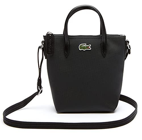 Lacoste NF2609PO, Shopping Bag Femme, Noir, Taille Unique