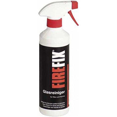 FIREFIX Glasscheibenreiniger/Kaminglasreiniger mit Sprühkopf, Inhalt: 500 ml
